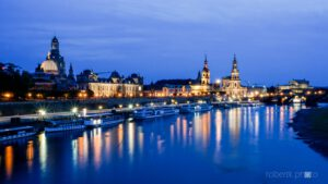Blue Hour Dresden