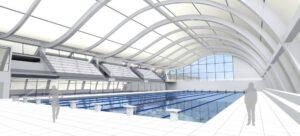 """[Bachelor Thesis] Swimming hall """"The Wave"""""""